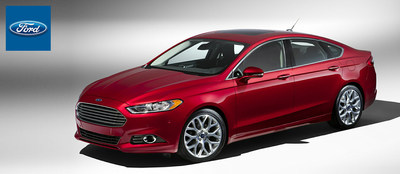 For premium safety and incredible Ford EcoBoost power options, the 2015 Ford fusion is the top model on the road in Davenport, Iowa. (PRNewsFoto/Dahl Ford)