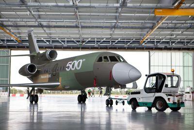 500th Falcon enters final production in Bordeaux-Merignac (France)