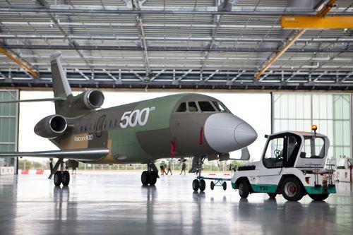 Dassault Set to Deliver 500th Falcon 900