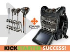Patented, portable golf club and bag design becomes most successful golf equipment campaign to-date on Kickstarter (PRNewsFoto/DV8 Sports)