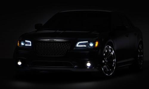 A Chrysler 300C design concept to be unveiled at the 2012 Beijing Auto Show commemorates the reentry of the ...