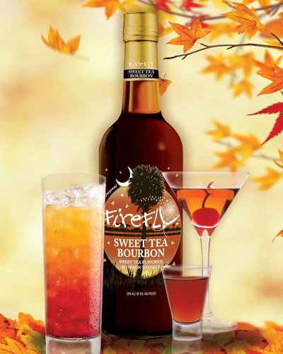 Warm Up with Firefly Sweet Tea Flavored Bourbon Cocktails!  As the nights grow cooler it's time to light a ...