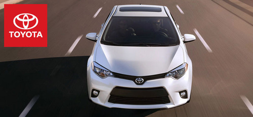 Toyota enthusiasts get behind the wheel of the 2014 Toyota Corolla available at Hesser Toyota.  (PRNewsFoto/Hesser Toyota)
