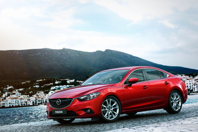 All-New 2014 Mazda6 Sedan Makes Global Debut in Moscow.  (PRNewsFoto/Mazda North American Operations)