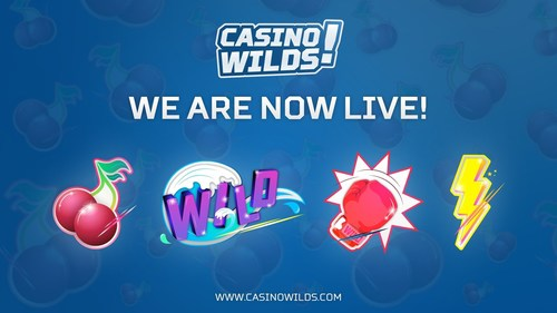 CasinoWilds - The Iconic Online Casino Is Now Live! (PRNewsFoto/CasinoWilds)