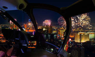 Sundance Helicopters' Fourth of July Fireworks Helicopter Tour Experience