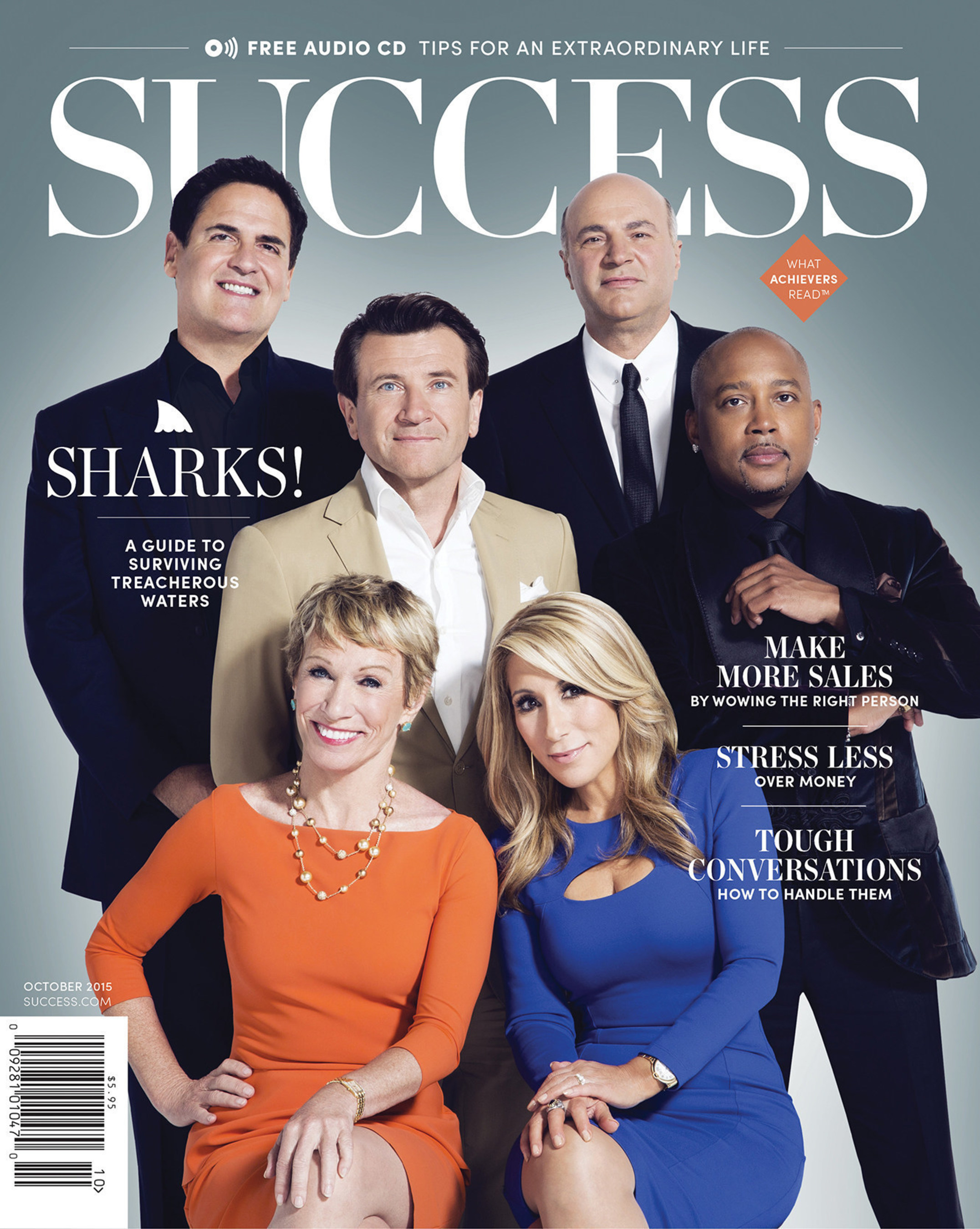 Sharks from Shark Tank Partner with SUCCESS Magazine