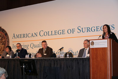 Trauma surgeons discuss how to achieve zero preventable deaths after injury during the American College of Surgeons Clinical Congress in Washington, DC, this week. Photo: American College of Surgeons