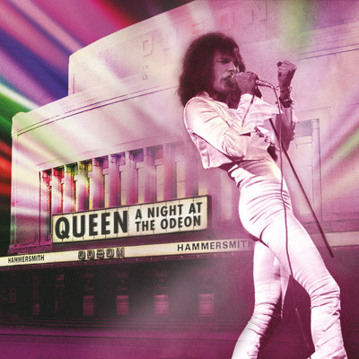Queen 'A Night At The Odeon' Cover Art