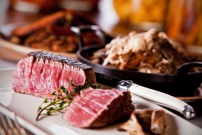 Steak at Urban Farmer Steakhouse in Philadelphia's Logan Square