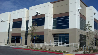 Sale of OMP Fontana Logistics Center, Fontana, CA.  (PRNewsFoto/Overton Moore Properties)