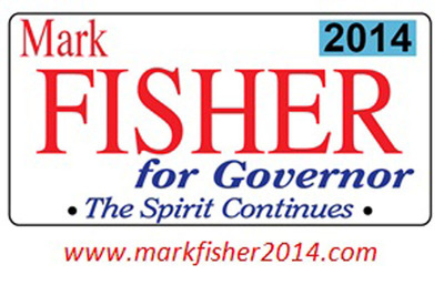 Mark Fisher for Governor 2014 image. (PRNewsFoto/Mark Fisher for Governor) (PRNewsFoto/MARK FISHER FOR GOVERNOR)