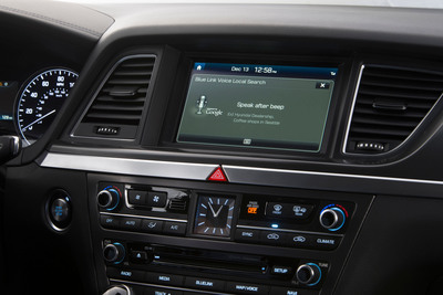 Hyundai's Second Generation Blue Link Technology Now Powered By Google And Provides Intelligent Assistance. (PRNewsFoto/Hyundai Motor America) (PRNewsFoto/HYUNDAI MOTOR AMERICA)