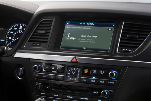 Hyundai's Second Generation Blue Link Technology Now Powered By Google And Provides Intelligent Assistance.  ...
