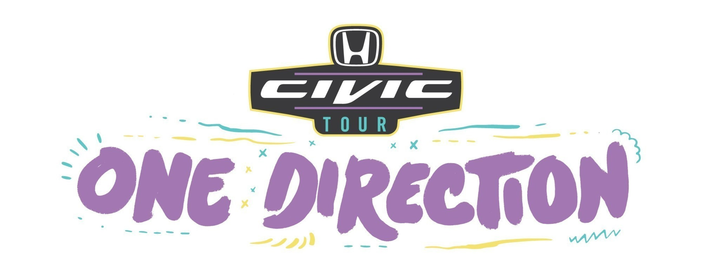 Honda Civic Tour Presents One Direction On The Road Again Kicks Off Today In San Diego, CA