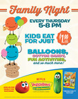Ryan's®, Hometown® Buffet And Old Country Buffet® Offer Fresh Servings Of VeggieTales For Family Night