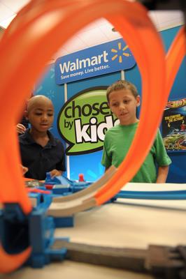 """Walmart's """"Chosen by Kids"""" Top Toys.  (PRNewsFoto/Walmart)"""