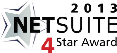InnoVergent was presented with the 4 Star Partner Award by NetSuite.  (PRNewsFoto/InnoVergent)