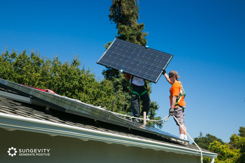 Expert local installers who have completed Sungevity's screening process will install solar solutions purchased in each state, ensuring these jobs will be kept in the New Mexico and Vermont Communities. (PRNewsFoto/Sungevity, Inc.)