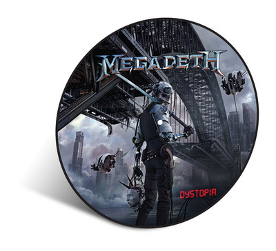 MEGADETH's New Critically Acclaimed Album 'Dystopia' To Be Issued As A Limited Edition Vinyl Picture Disc on April 8