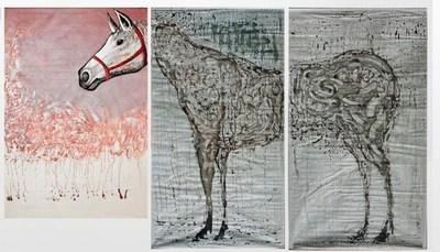 Race Horse by Iliyan Ivanov for Fridge Art Fair 2015 (Photo Credit: Fridge Art Fair)