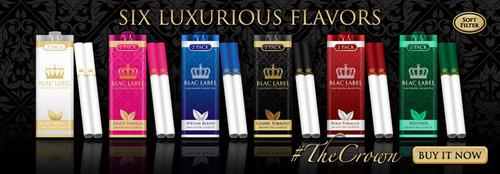 Blac Label Premium Electronic Cigarettes. (PRNewsFoto/Blac Label) (PRNewsFoto/BLAC LABEL)
