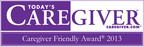 Senior Helpers wins 2013 Caregiver Friendly® Award from Today's Caregiver Magazine