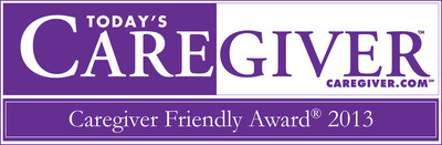Senior Helpers' Senior Gems(R) training DVD wins 2013 Today's Caregiver Award.  (PRNewsFoto/Senior Helpers)