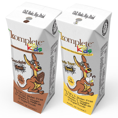 Komplete Kids delivers healthy and great-tasting nutrition, in a fun and colorful package that kids will love!