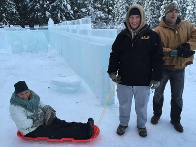 Christmas in Ice gave wounded veterans and their families a chance to bond in North Pole, Alaska