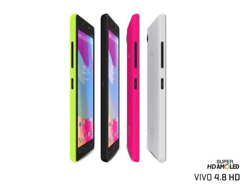 BLU VIVO 4.8 HD. (PRNewsFoto/BLU Products) (PRNewsFoto/BLU PRODUCTS)