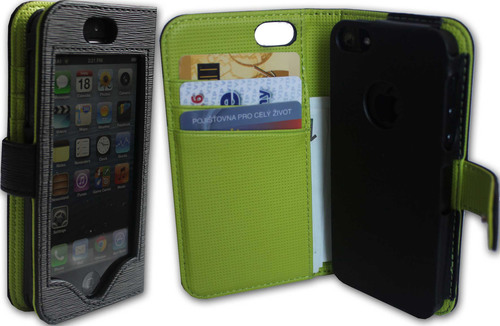 iPhone Wallet Case People Don't Have to Open in Order to Use the Phone is Launched by iWallie.  (PRNewsFoto/iWallie)