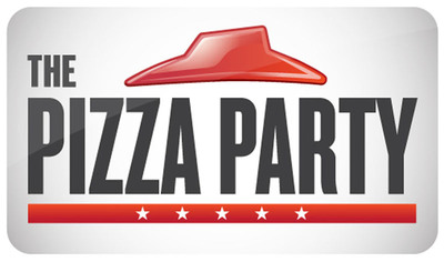 The Pizza Party and candidate the Big Dinner Box offering free Stuffed Pizza Rollers and more to all members that join the movement at PizzaHut.com/PizzaParty.  (PRNewsFoto/Pizza Hut)
