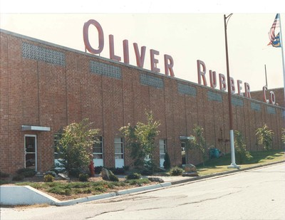 Oliver Rubber manufacturing facility located in Asheboro, N.C.