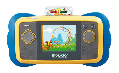 VTech® Launches MobiGo(TM) and Combines Mom's Touch Screen Technology With Kid-Friendly Edu-Gaming