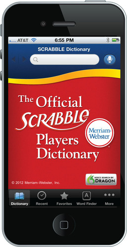 SCRABBLE Enthusiasts Score Big With Merriam-Webster's SCRABBLE Dictionary App