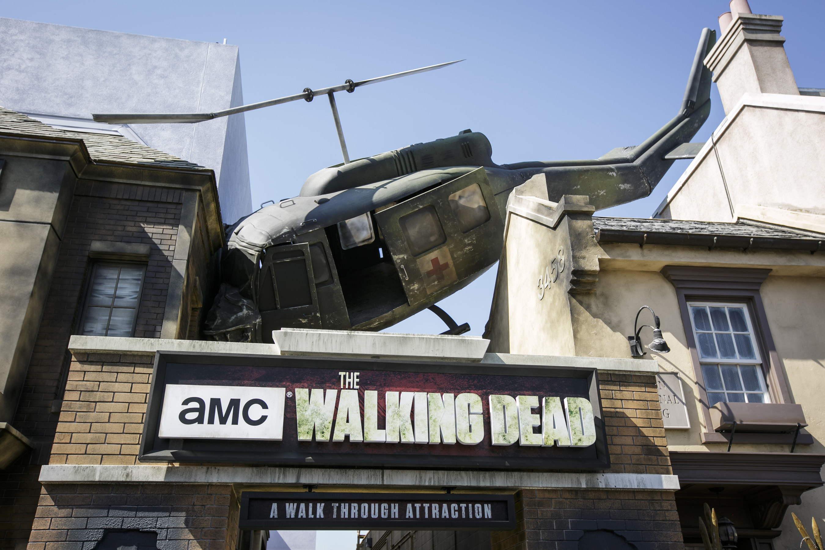 Universal Studios Hollywood Unlocks Its 'Don't Open, Dead Inside' Doors and Debuts its All-New 'The Walking Dead' Permanent Daytime Attraction Based on AMC's Top-Ra