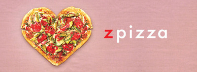 zpizza's all-natural ingredients will tantalize pizza lovers' taste buds.  (PRNewsFoto/zpizza)