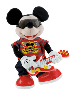 Fisher-Price(R), Inc., a subsidiary of Mattel, Inc., and Disney Consumer Products rocked the house at New York Toy Fair for the debut of the innovative and engaging Rock Star(TM) Mickey.