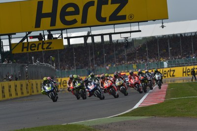 HERTZ RENEWS TITLE SPONSORSHIP OF THE BRITISH GRAND PRIX (MOTOGP(TM)) AT SILVERSTONE (PRNewsFoto/The Hertz Corporation)