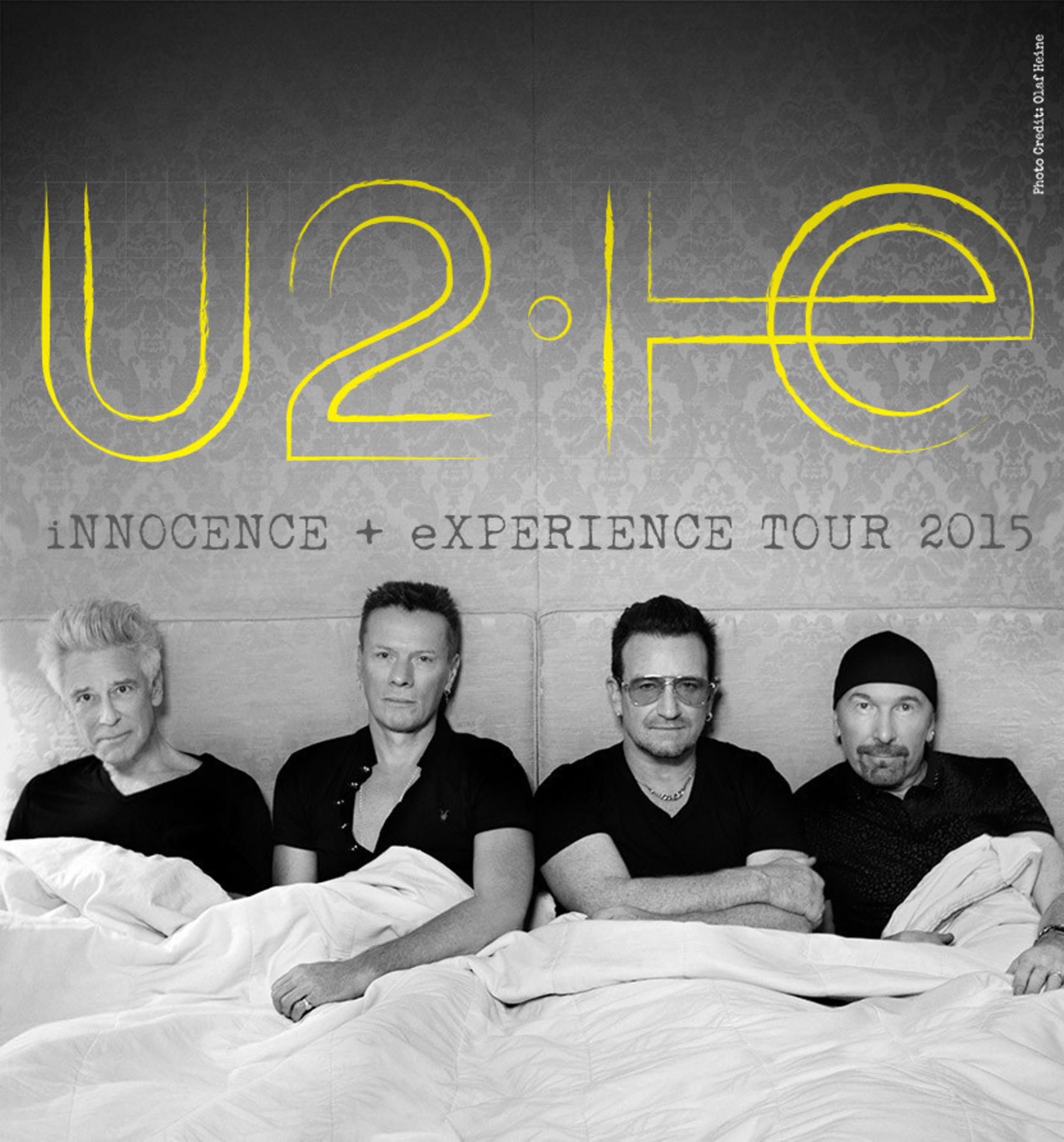 Kartenverkauf für die U2 The iNNOCENCE + eXPERIENCE Tour 2015 ein Triumph!