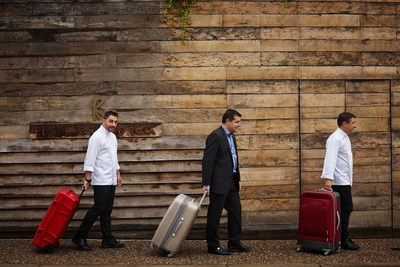 The Roca brothers and their staff will visit London, Hong Kong, Phoenix, San Francisco and Santiago, Chile, to recreate the experience from their Girona-Spain based restaurant.