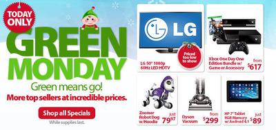 Walmart.com trae al Lunes Verde los productos favoritos de más venta en el fin de semana del Viernes Negro