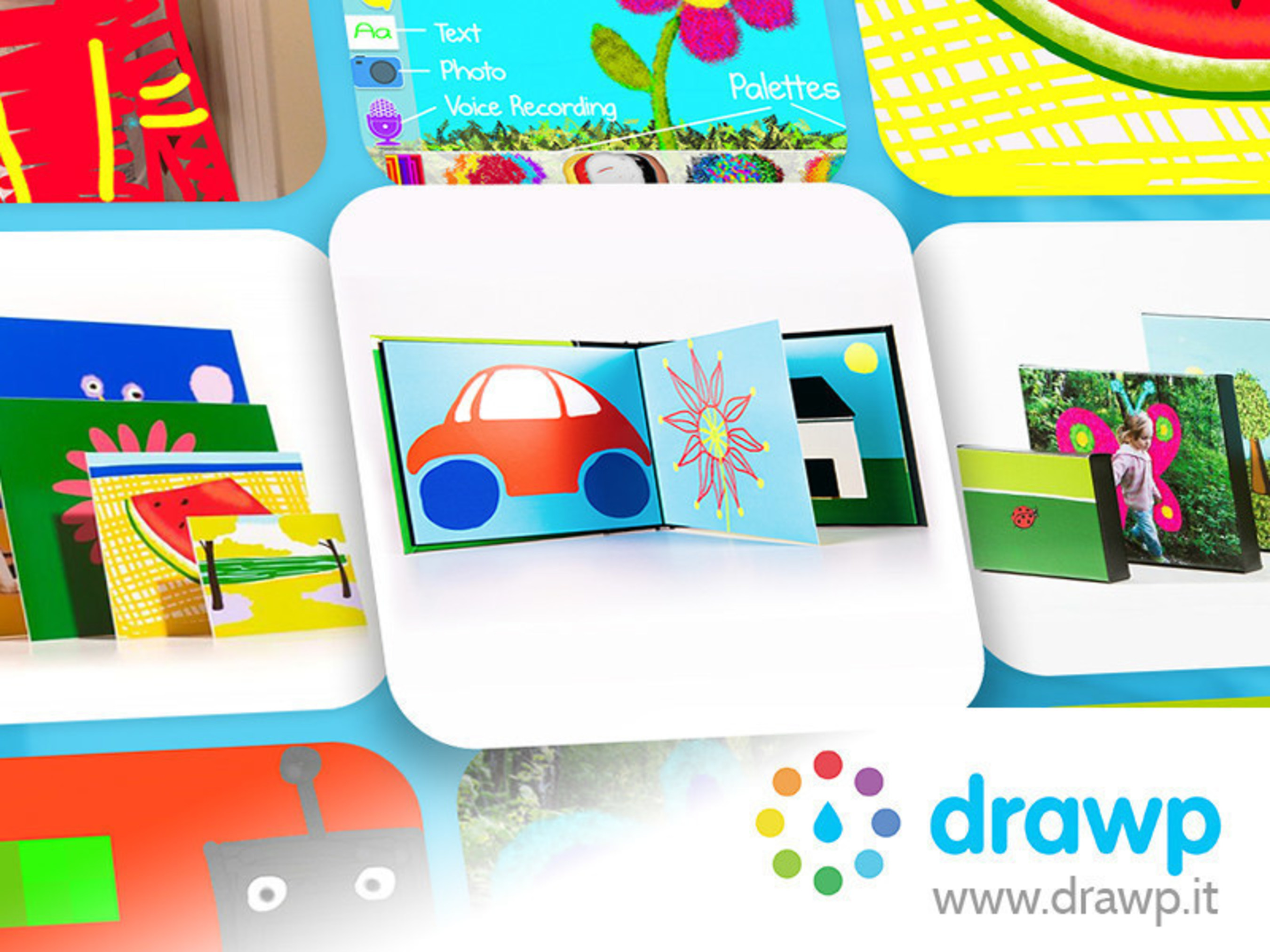Award-winning Art App Drawp Adds Premier Printing