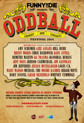 Funny Or Die Presents Oddball Comedy & Curiosity Festival 2014