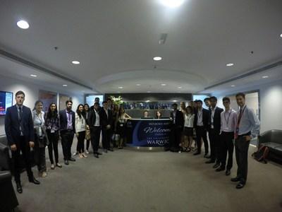 Holborn Assets Hosts Potential Future IFAs from Warwick University at Dubai Headquarters (PRNewsFoto/Holborn Assets)