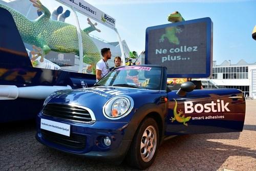 Bostik Tour de France Sponsorship Vehicles (PRNewsFoto/Bostik)