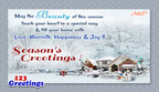 Get The Best Deal On Cyber Monday, By Sending Free Season's Greetings Ecards, From 123Greetings.com