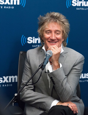 """SiriusXM's Town Hall with Rod Stewart"" at the SiriusXM studios.  (PRNewsFoto/Sirius XM Radio)"