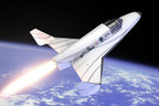 XCOR Aerospace is building the Lynx suborbital spacecraft to ferry passengers and payloads to the edge of space. XCOR recently completed a $5 million equity funding round.  (PRNewsFoto/XCOR Aerospace)